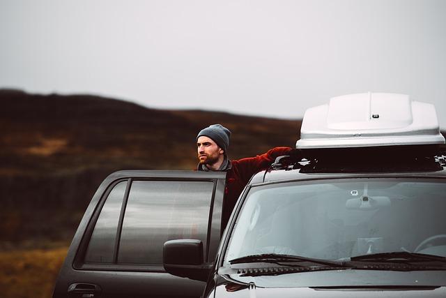 s autem v horách