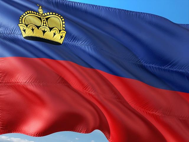 vlajka Lichtenštejnů