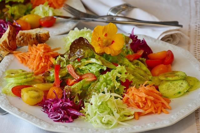 Zelenina je důležitou součástí stravy